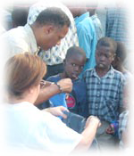 Working In Haiti
